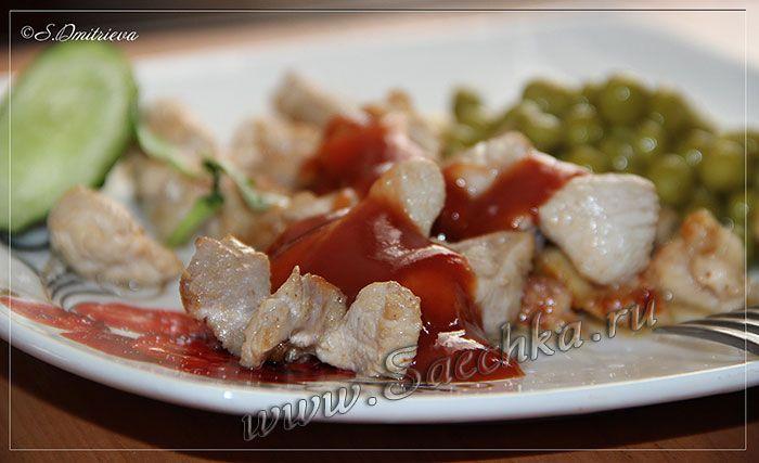Фото к рецепту: Жареная индейка