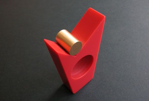 Corian ring - Fritz Maierhofer