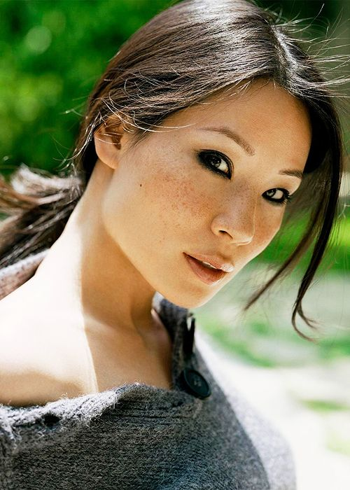 Lucy Lui...I think she is absolutely beautiful!!