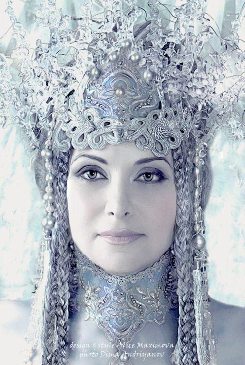Gallery.ru / Фото #1 - Снежная королева - alismaks headdress character