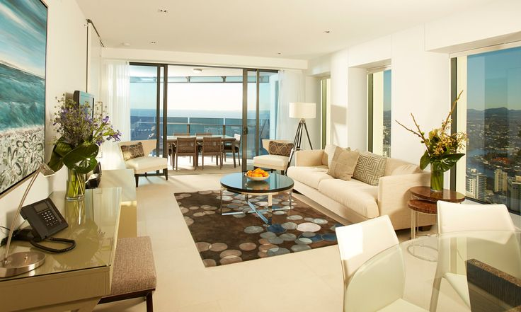 Not really fussed on the furniture, but the apartment itself is beautiful.  Soul - Luxury Apartments Surfers Paradise