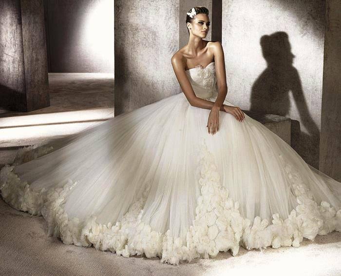 wow big poofy dress wedding dresses pinterest