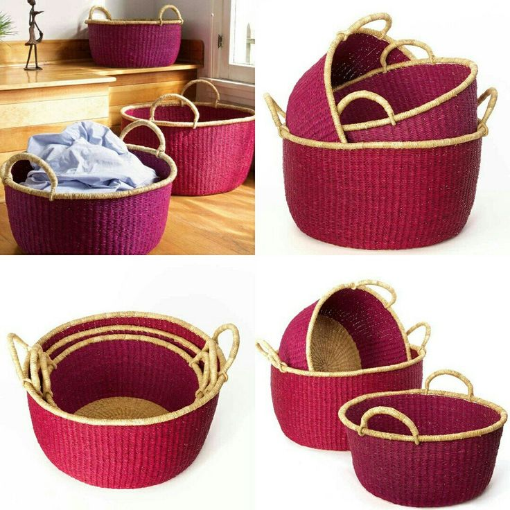 When life gives you hands, BUY HANDWOVEN BASKETS 😃💕  Laundry Baskets @ 👇👇 www.africablooms.etsy.com  #love #basket #handmade #laundryroom #laundrybasket #home🏡  #laundry #home #decor  💕 Love from Africa Blooms 👌 www.africablooms.com