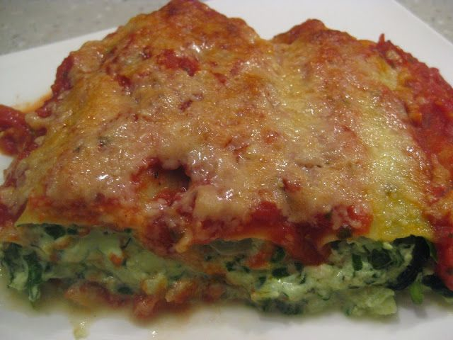 My Thermomix Kitchen - Blog for healthy low fat Weight Watchers friendly recipes for the Thermomix : Spinach and Ricotta Cannelloni
