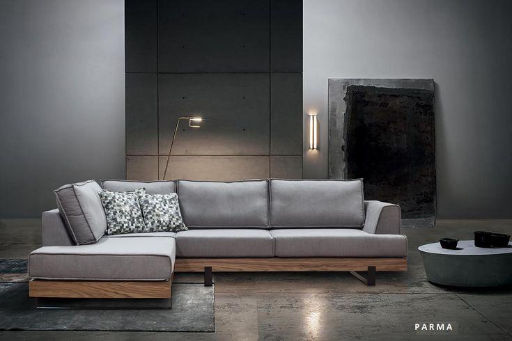 Parma γωνιακός καναπές