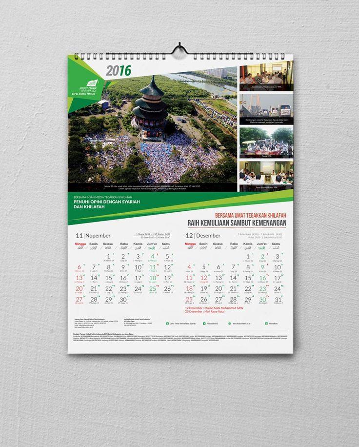 Calendar design 2016 hizbut tahrir