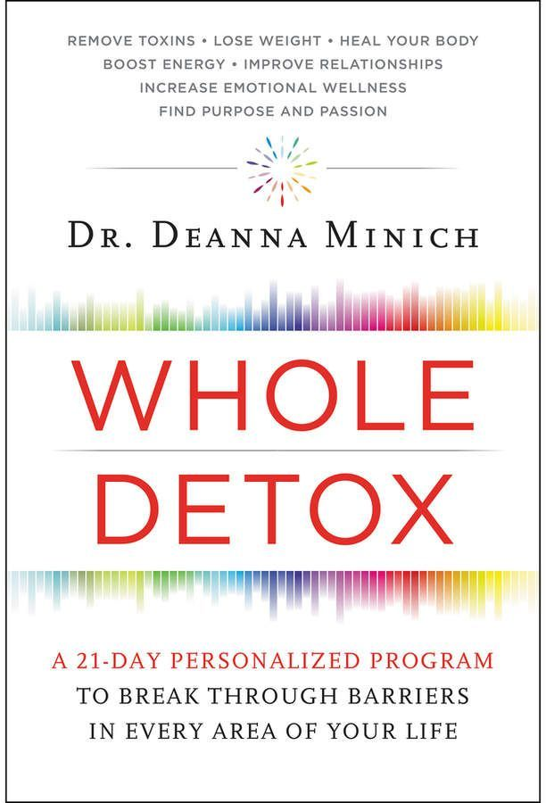 Harper Collins Whole Detox- A holistic twenty-one-day approach—brought to you by scientist, researcher, and practitioner Deanna Minich—to tackling detox head-on and getting an out-of-whack health system back in balance.