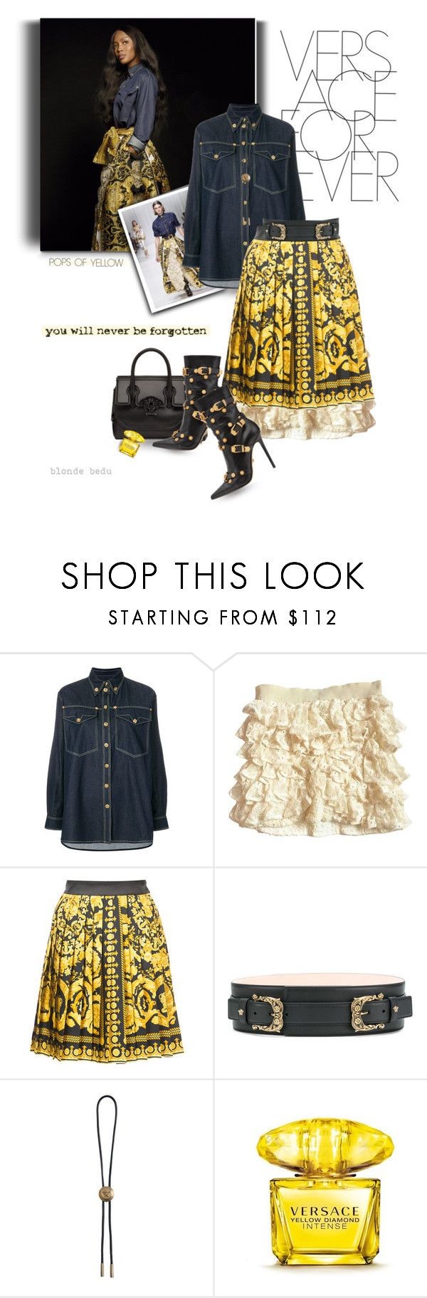 """What defines luxury is uniqueness, emotions & desire"" by blonde-bedu ❤ liked on Polyvore featuring Versace and Isabel Marant"