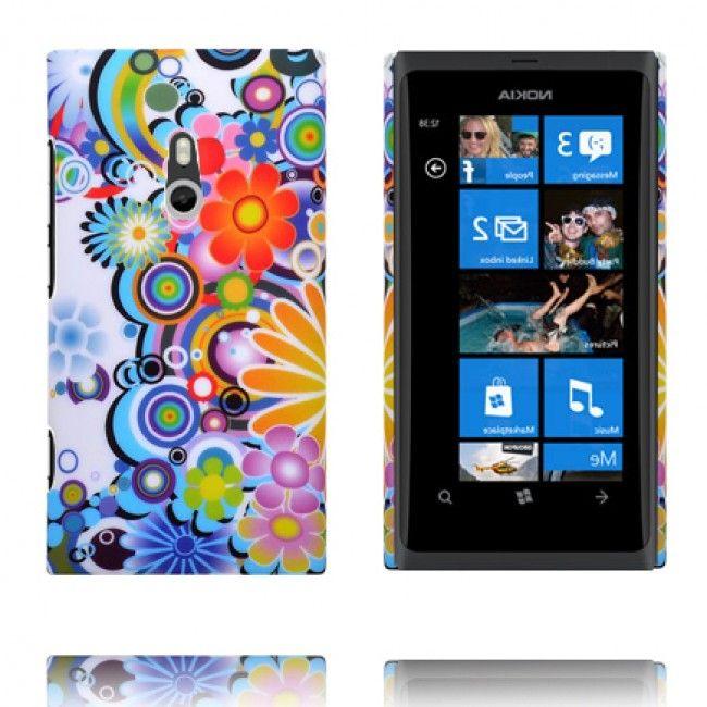 Valentine (Värikkäät Ympyrät & Kukat) Nokia Lumia 800 Suojakuori - http://lux-case.fi/valentine-varikkaat-ympyrat-kukat-nokia-lumia-800-suojakuori.html