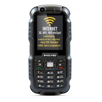 EVOLVEO StrongPhone WiFi to nowość w ofercie EVOLVEO. Jest dedykowany osobom preferującym aktywny wypoczynek, a jednocześnie oczekujących, że ich telefon oprócz swojej wytrzymałości będzie również spełniał swoje funkcje w codziennym życiu. Dlatego ekstremalnie wytrzymała obudowa czyni z naszego telefonu zaufanego pomocnika w czasie codziennych czynności, a jednocześnie zapewnia stały dostęp do internetu i oferuje możliwość korzystania równocześnie z dwóch aktywnych kart SIM.