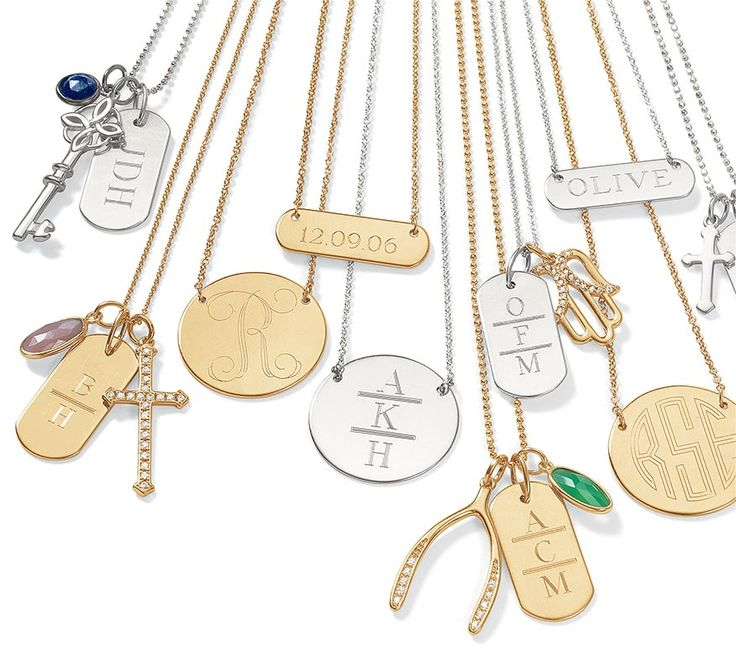 So many options, so little time! What will your unique personalization say? Personalized Necklaces, Custom Gifts & More | Stella & Dot