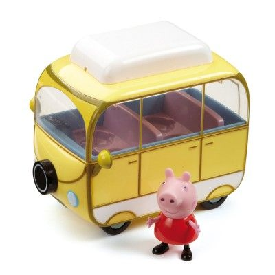 Figurine Peppa Pig : Peppa et son camping car - Giochi-4961-2