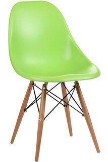 Vitra DSW 440023000204 - Eames Chair DSW - Sedia in plastica con piedini in acero, Blu oceano: Amazon.it: Casa e cucina