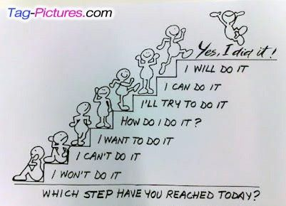Love this- every one of my children fits in one of those steps as a starting point for a new topic.
