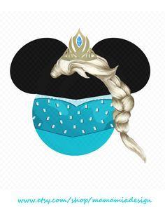 Instant Download - Tiara and Princess Elsa from Disney's Frozen ...