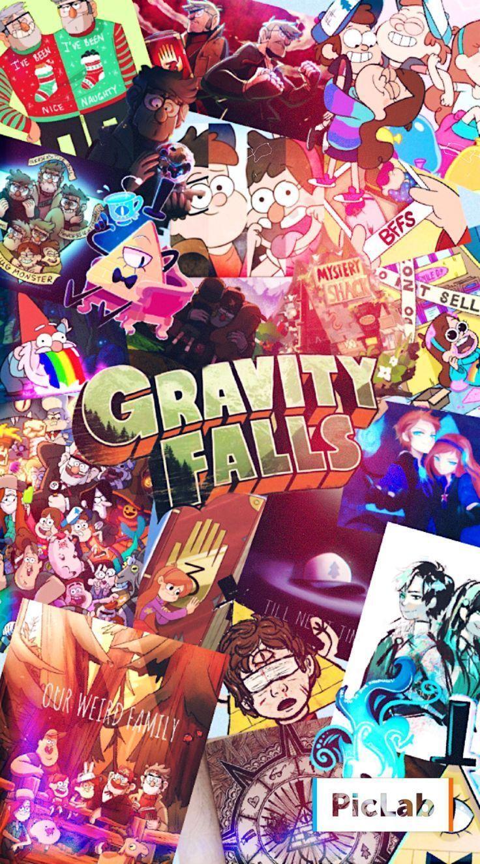 Gravity Falls Wallpaper // Reverse Falls // Gravity Falls // Mabel Pines // Dipp…