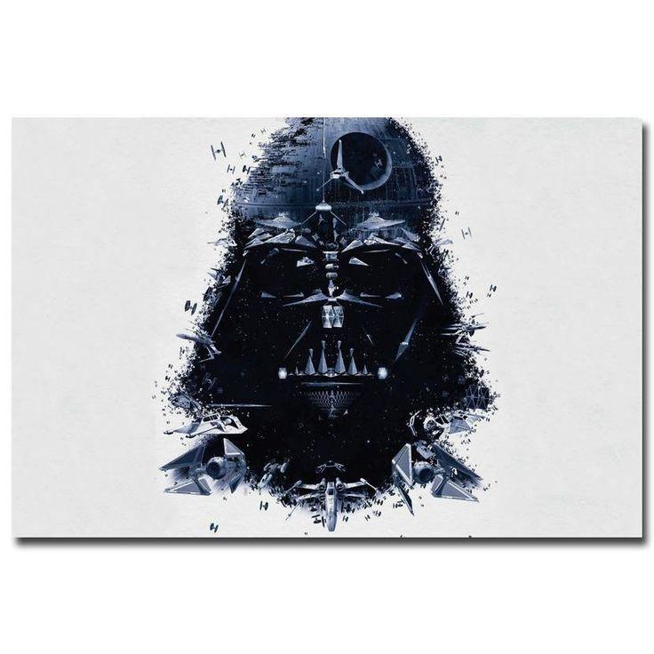 Star Wars - Darth Star Silk Poster