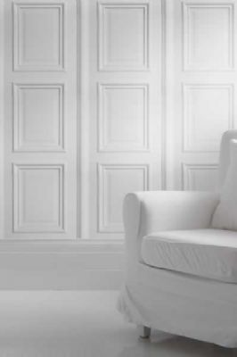 White Panelling by Young  Battaglia 2 5m Panel
