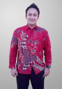 Baju Batik Sunwash Pria Terbaru Semi Sutra Motif Kembang Kode BSP 12 SMS ke 082134923704