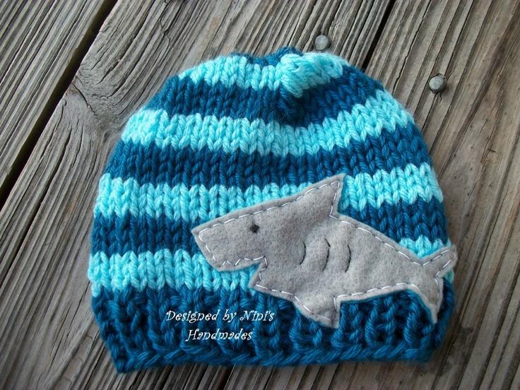 17 Best images about Shark Week Knitting on Pinterest Hammerhead shark, Alp...