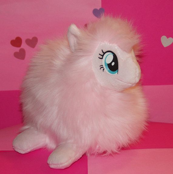 My Little Pony Fluffle Puff Plush Fat Art Handmade By