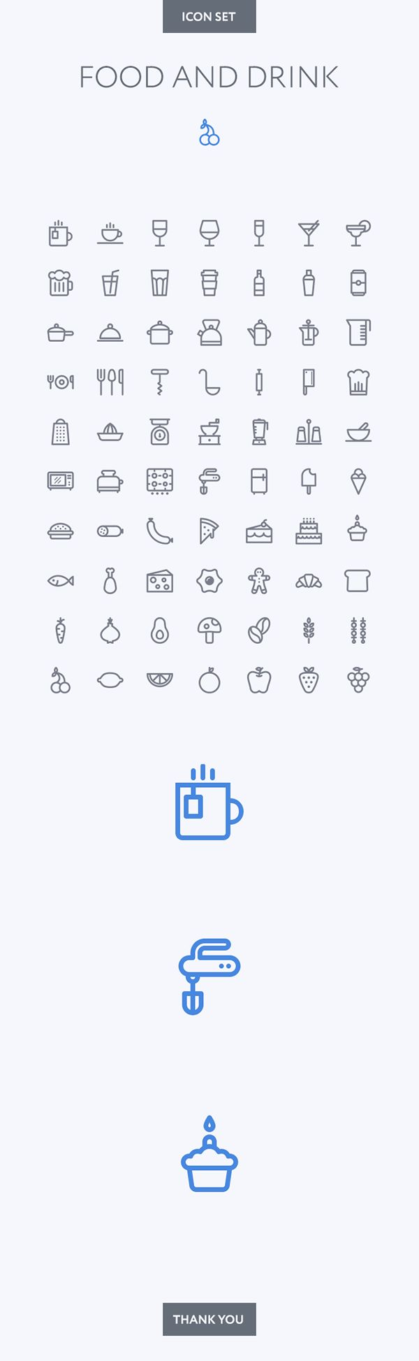 Food and Drink icon set on Behance                                                                                                                                                                                 More