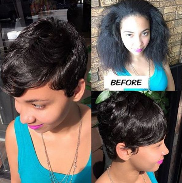 A few snips can transform you - Black Hair Information Community