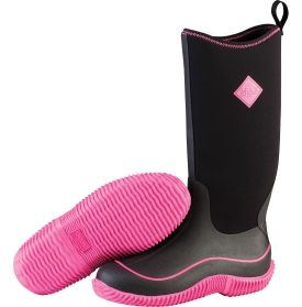 You'll be outfitted all-year long in The Original Muck Boot Company® Women's Hale rain boot. Perfect for changing seasons, these boots were designed for everything from stomping through fall leaves to walking in the spring rain. The stretch-fit upper and flex-foam bootie are soft and comfortable, while delivering waterproof protection you need to keep feet dry. The self-cleaning outsole knocks off mud and dirt making the Hale a favorite.