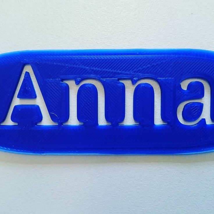 Learning how to 3D print your own name is always a good start. #3dprinter #name #learning