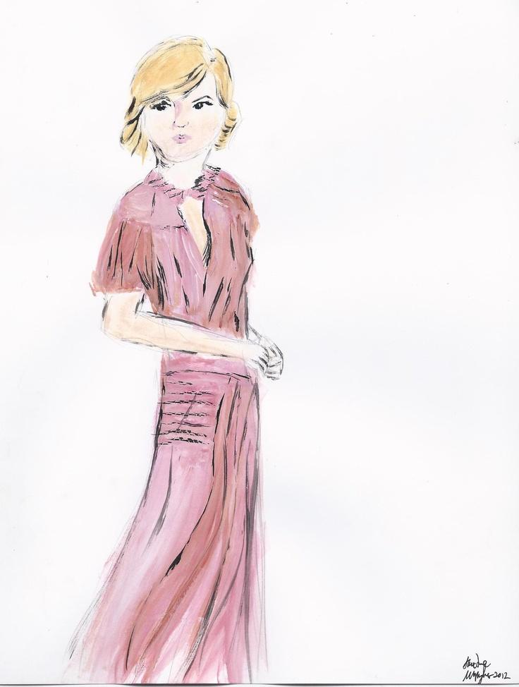 A fashion illustration