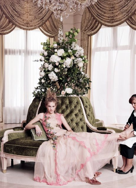 """Cool Chic Style Fashion: """"Grand Hotel"""" Vogue US July 2016"""
