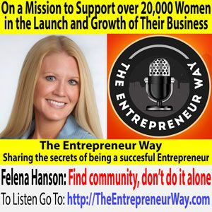 Felena Hanson is a long-time entrepreneur and marketing maven. Her latest venture, Hera Hub, is a spa-inspired shared workspace and community for female entrepreneurs who need a productive, professional place to work on a flexible basis.  She has three locations in San Diego County and is expanding nationally via a licensing model.  She's on a...