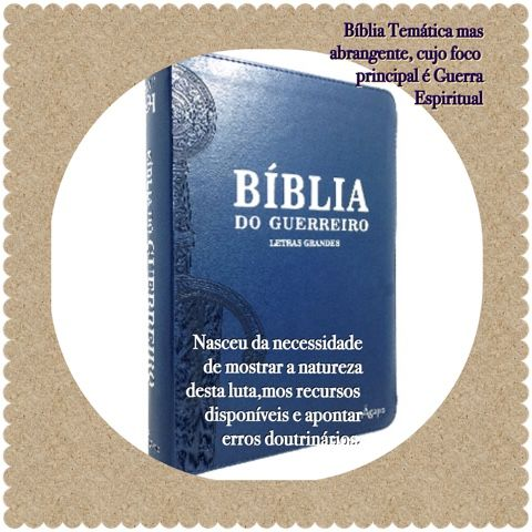 Bíblia de Estudo do Guerreiro: Cristo Versus Anticristo