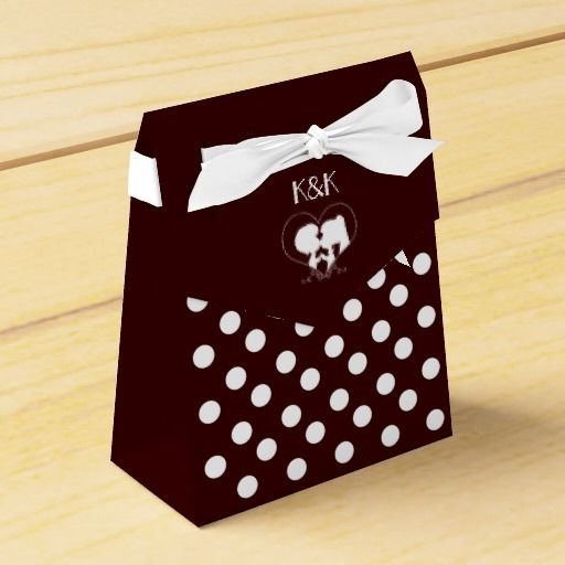 Happy Wedding Favor Box(Tent)