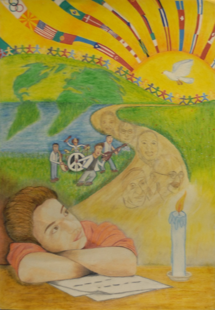 Finalist from Europe: Lions Clubs International 2012-2013 Peace Poster Contest