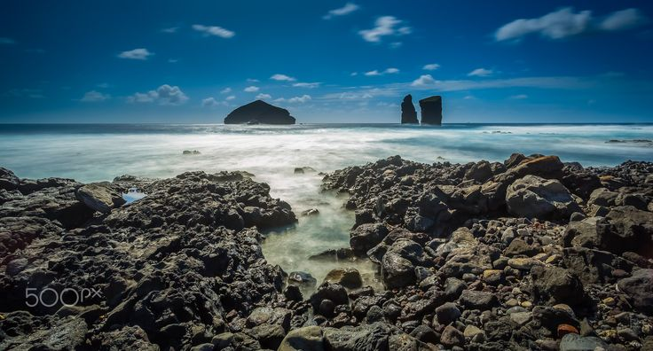 Mosteiros Islets - 18'' exposure done in the Island of S. Miguel, Azores, Portugal.