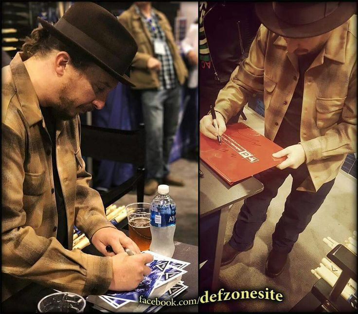 Abe Cunningham during Vater Drumstick Artist Autograph Signing at NAMM Show 2017, Anaheim Convention Center in Anaheim, CA (January 21, 2017). Photos by: Che Garcia (cheplaysdrums), Edgar (streetcarp6650)  Shared by: Deftones Zone