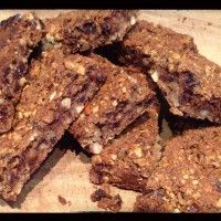 Weet Bix Bars  recipe on cycologygear.com blog