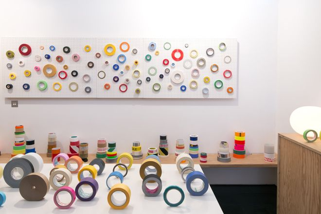 Tapes of the world, exhibition curated by Jasper Morrison, Jasper Morrison Studio, London, 2012