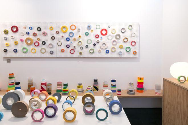 Tapes of the world, exhibition curated by Jasper Morrison, Jasper Morrison Studio, London, 2012