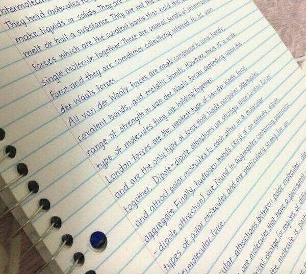 И это почерк человека....