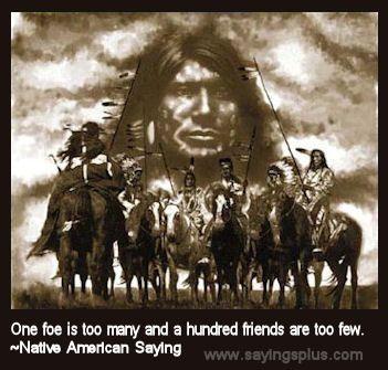 89 Native American Proverbs