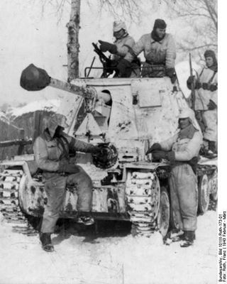 Marder III of 1th Panzer LSSAH, Kharkov area, February - March 1943