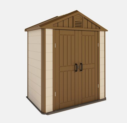 17 best images about storage shed on pinterest bike for Garden storage solutions