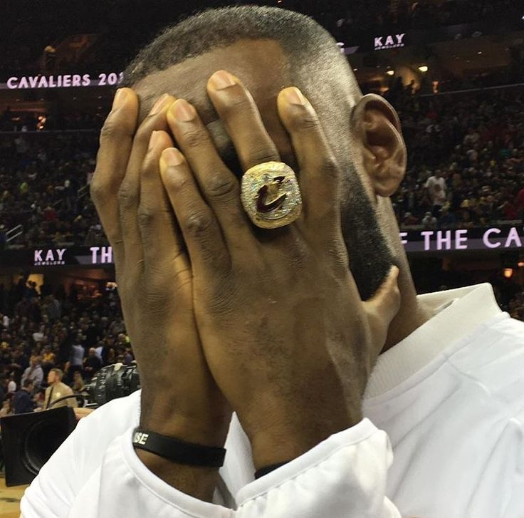 A beautiful ring for king James!!