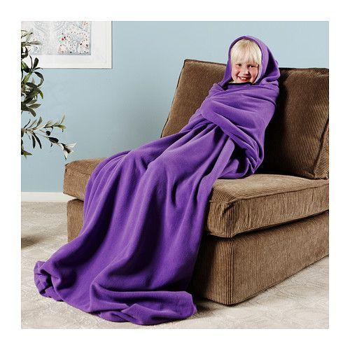 V 196 Nnerna Blanket Ikea Blanket With Hood Is Sewn On 3 Sides