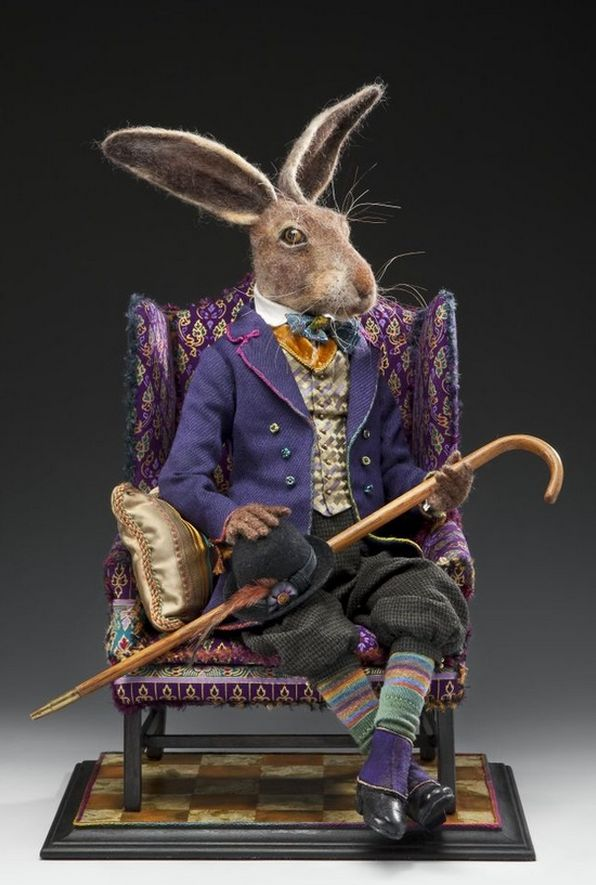 gorgeous hare doll