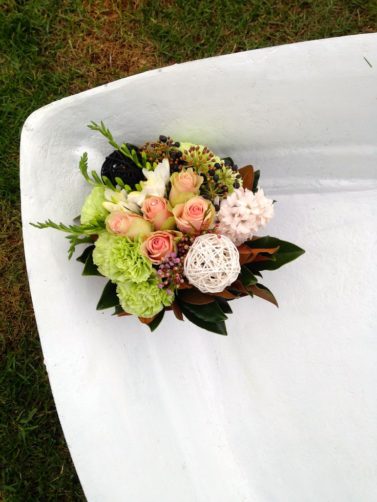 My own grouped posy