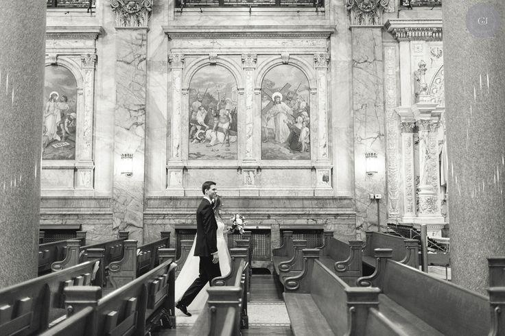 Planner: Angela Proffitt Venue: Church of Saint Ignatius Loyola, New York City Photographer: Charlie Juliet Photography