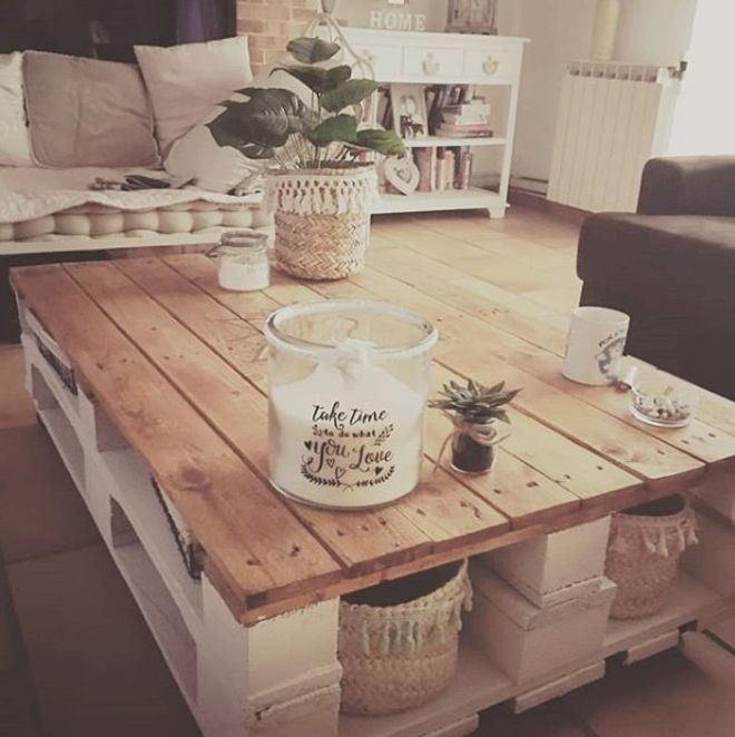 La Recup Pour Creer Des Meubles Est Ultra Tendance En Decoration Non Seulement C Est Table Basse Palette Fabriquer Une Table Basse Tables En Palettes De Bois